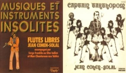 Jean Cohen-Solal – Flutes libres (1971)/ Captain Tarthopom (1973)