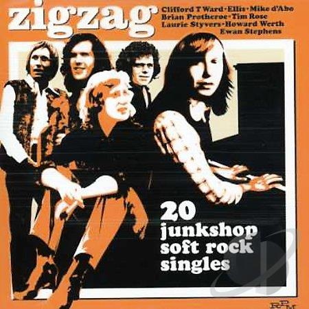 Zigzag  – 20 junkshop soft rock singles (1970-1974 Compilation)