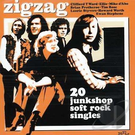 Zigzag  – 20 junkshop soft rock singles (1970-1974 Compilation)