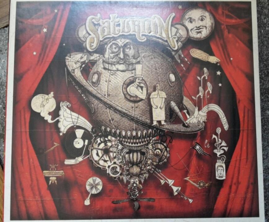 Saturnin – Saturnin (2008)