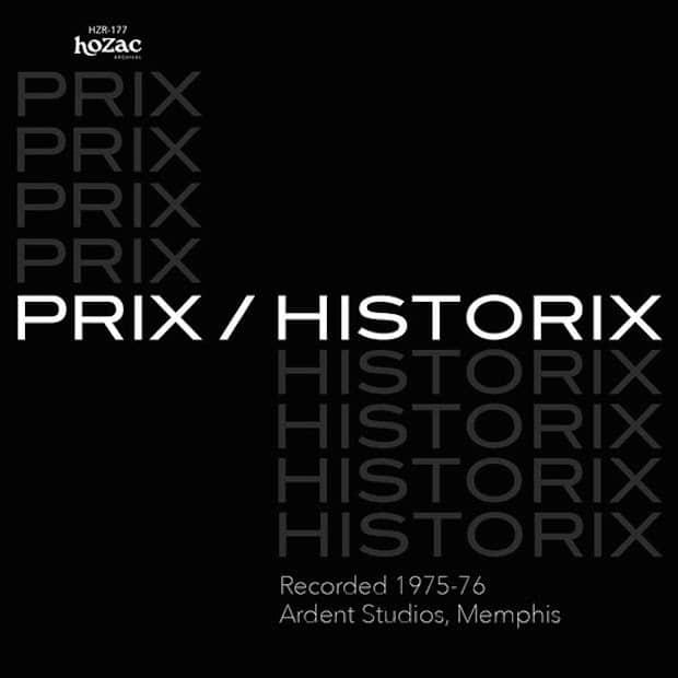 Première édition de Prix – Historix en vinyle avec Alex Chilton et Chris Bell