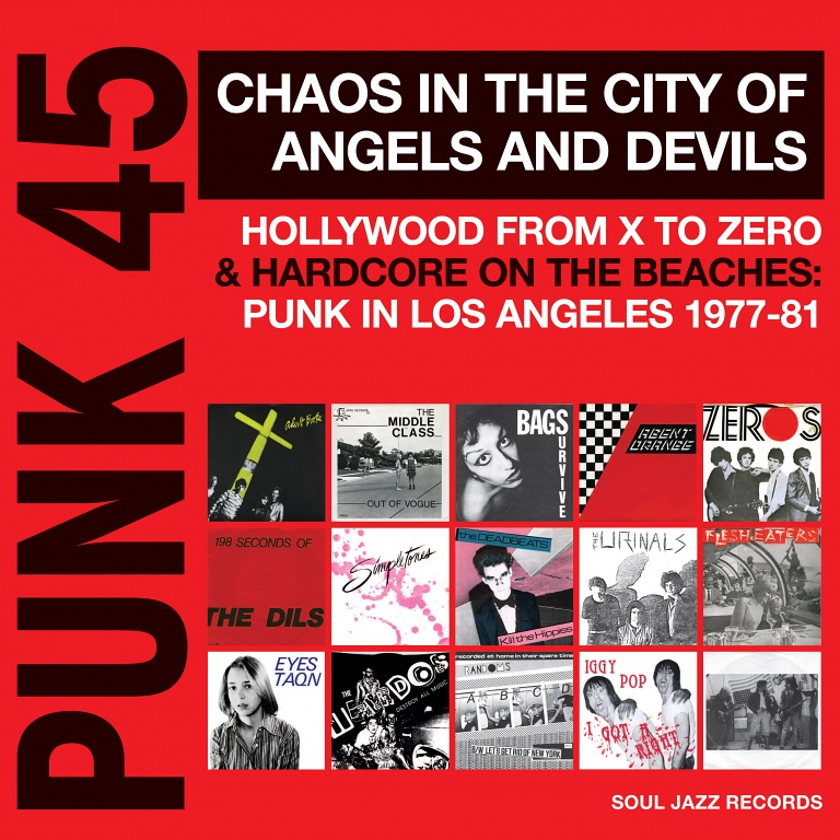 Nouveau Volume de Punk 45, l'excellente série de Soul Jazz Records.