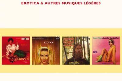Erwann Pacaud – Easy Listening, Exotica et autres Musiques Légères (2016)