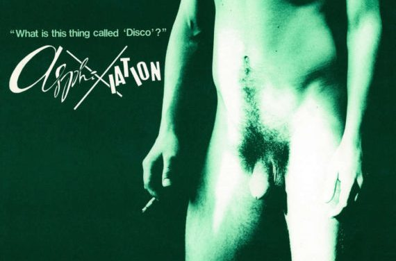 Réédition d'un album provocateur post disco Australien, What Is This Thing Called 'Disco'? par Asphixiation