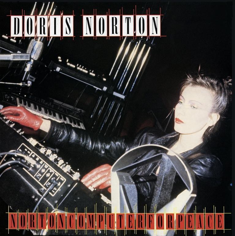 Réédition de 3 albums minimal wave de la productrice italienne Doris Norton