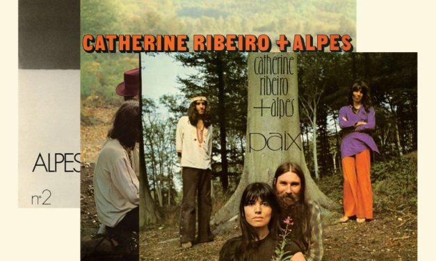 Un coffret vinyle de 3 albums indispensables de Catherine Ribeiro + Alpes
