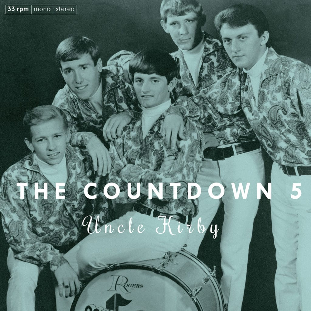 Redécouverte d'un groupe garage sixties Texan : The Coutdown 5