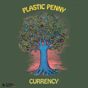 plastic penny currency