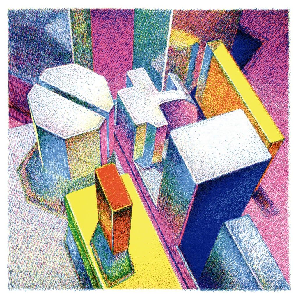 Pieces for Kohn, synthés azimutés de Thomas Hamilton, de nouveau en vinyle