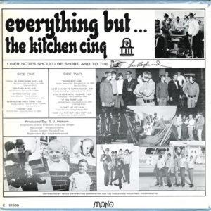 kitchen cinq verso de everything but