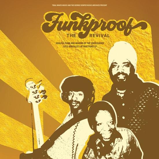 Un album inédit de Funkproof (1972), mené par Georges Samper, réapparaît