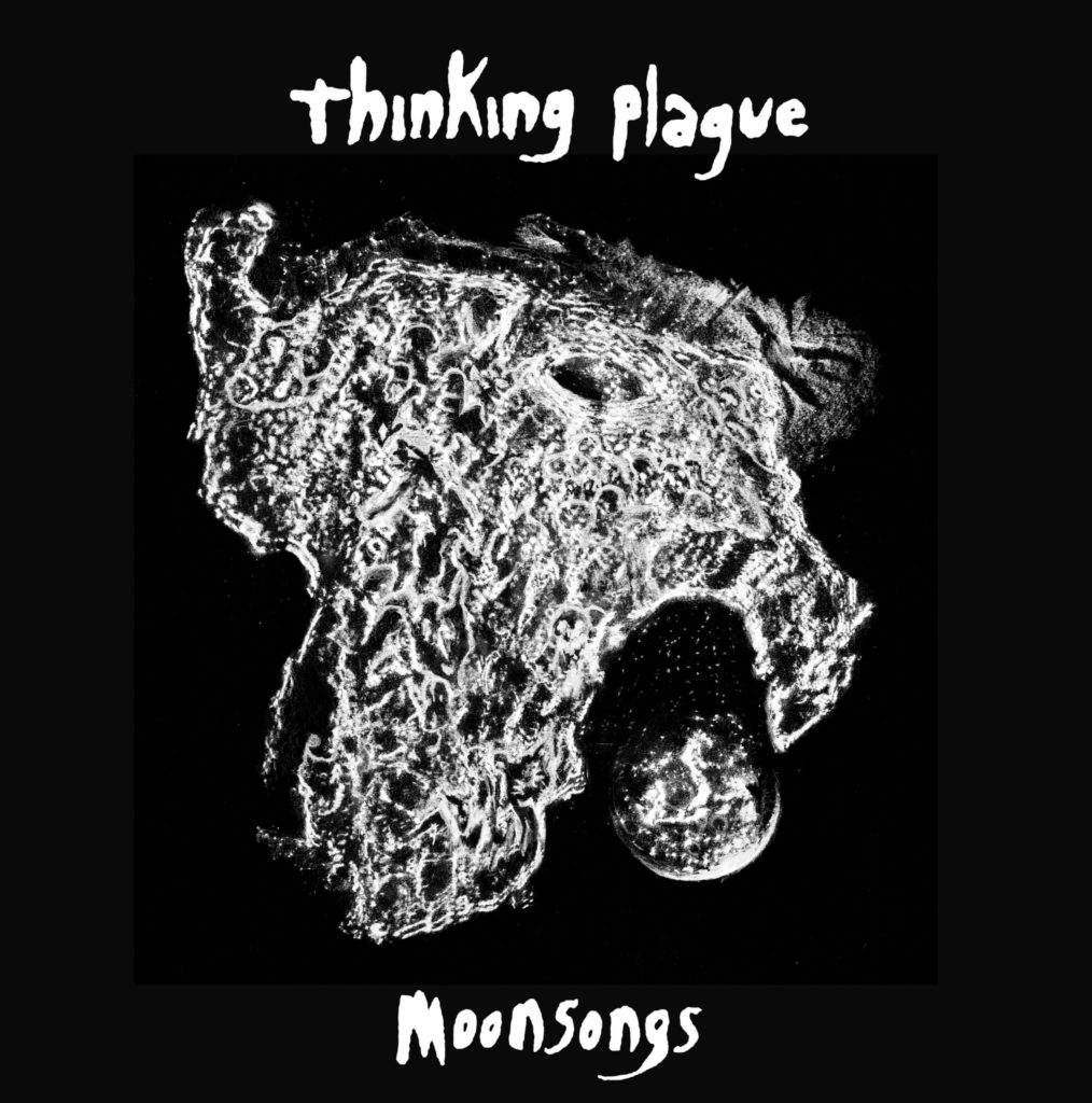 Moonsongs, deuxième album du group RIO Thinking Plagues réédité en vinyle