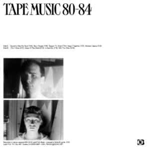 Dos de la pochette Psyclones – Tape Music 1980-1984