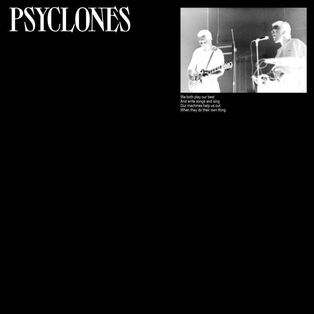 Les premiers titres du duo Post-punk No Wave Psyclones, compilés en vinyle